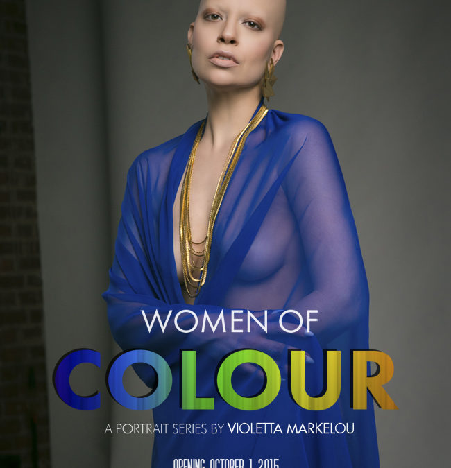 New Exhibition 'WOMEN OF COLOUR' Launching October 1 2015